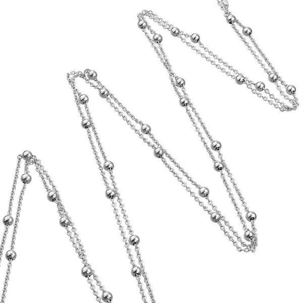 Colier Connect the Dots XXL din Argint