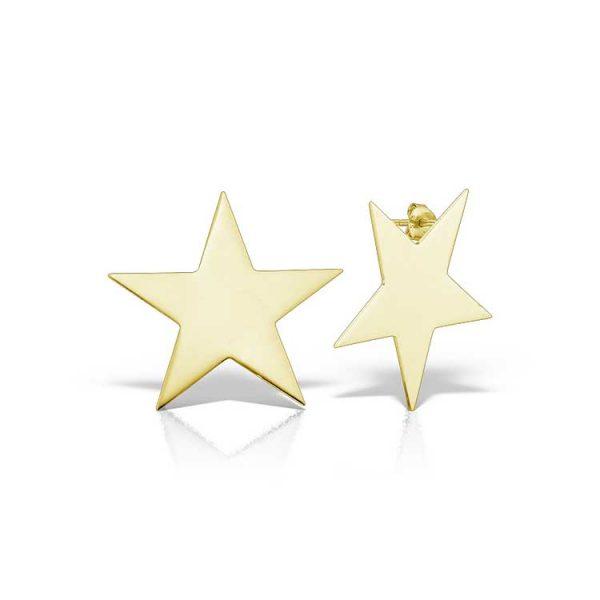 Cercei-Superstar-You-Are-din-Argint-Aurit-1