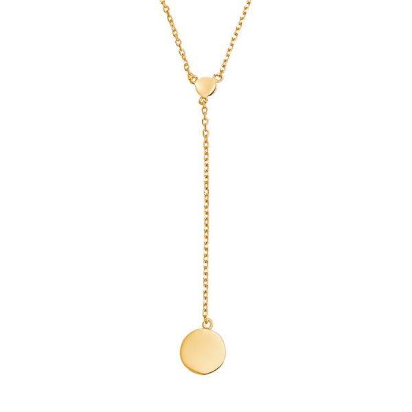 Colier-Chain-Pendulum-din-Argint-Aurit-Rose-2