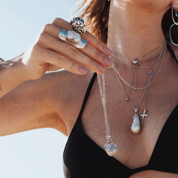 Colier-Cross-Pendulum-Restless-din-Argint-2