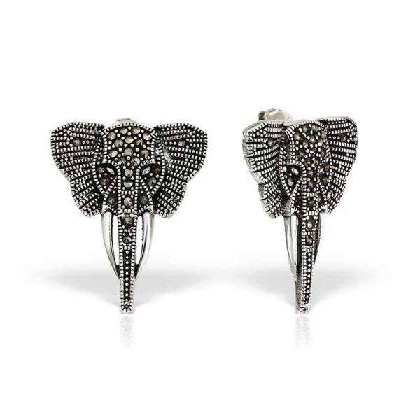 Cercei-Elephantine-din-Argint-01