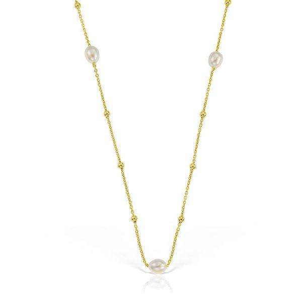 Colier-Pearl-Connection-din-Argint-Aurit-1