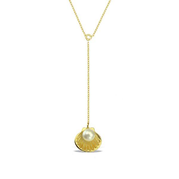 Colier-Birth-of-Venus-Pendulum-din-Argint-Aurit-1