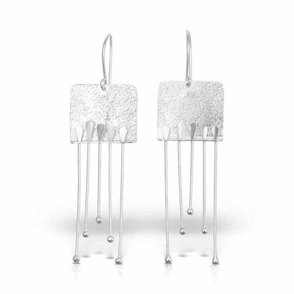 Cercei-A-Klimt-Kiss-din-Argint-1