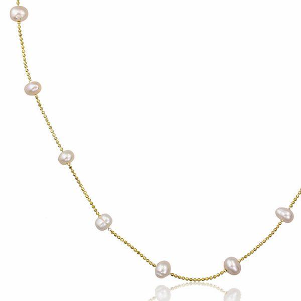 Colier-In-Between-Pearls-din-Argint-Aurit-1