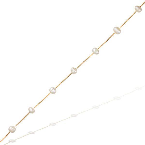 Colier-In-Between-Pearls-din-Argint-Aurit-Rose-02