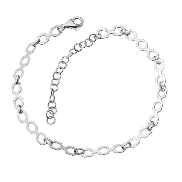 Bratara-Picior-Straight-Labyrinth-din-Argint-01