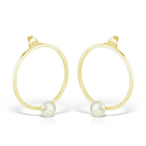 Cercei-On-White-Pearl-din-Argint-Aurit-01