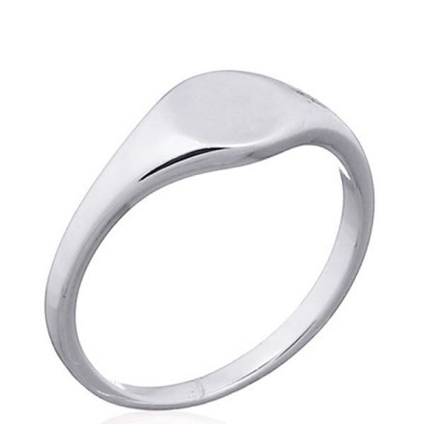 Inel-Little-Oval-Plain-din-Argint-01