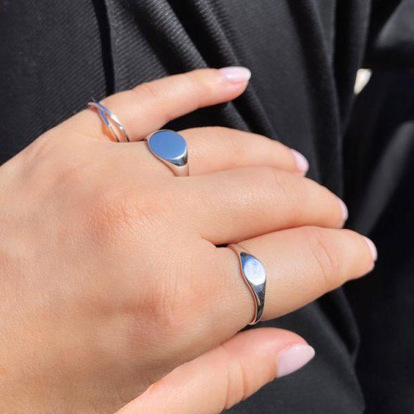 Inel-Plain-Round-din-Argint-5