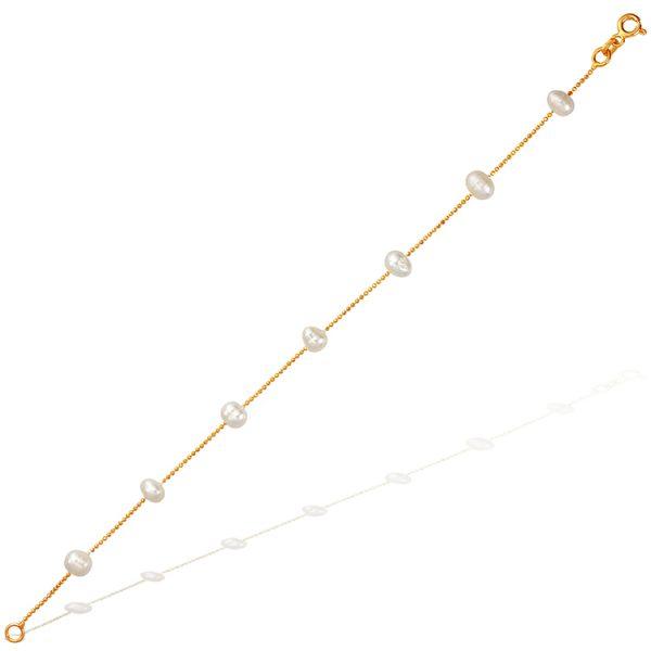 Bratara-in-Between-Pearls-din-Argint-Aurit-Rose-01