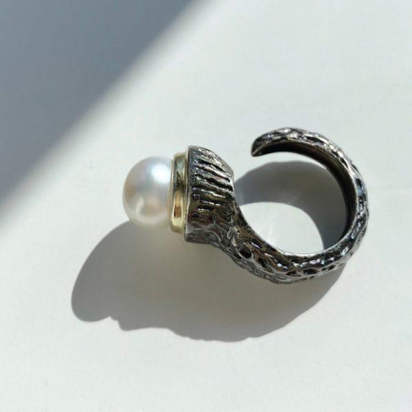 Inel-Pearl-Hookup-din-Argint-1