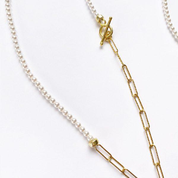 Colier-Minima-Disorder-din-Argint-aurit-3