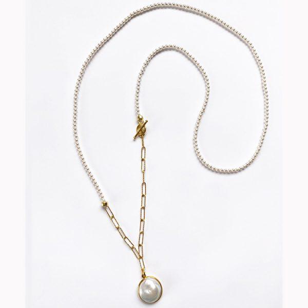 Colier-Minima-Disorder-din-Argint-aurit