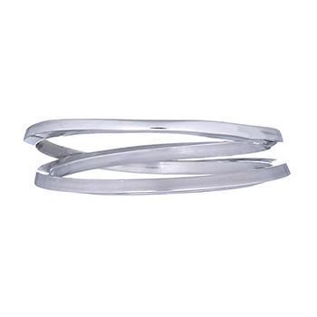 Inel A Round Around din Argint