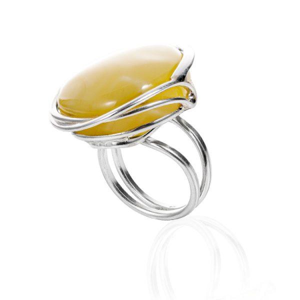 Inel-Amber-La-Belle-Epoque-#23-din-Argint
